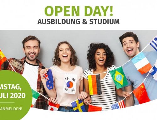 OPEN DAY! 18.07.2020 in Freiburg  Ausbildung & Studium